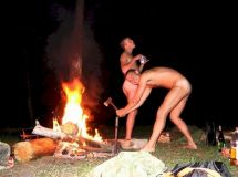 Gay Sex Campfire Porn Videos & Sex Movies
